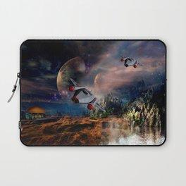 Planetary Encounter Laptop Sleeve