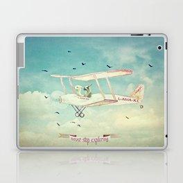 Never Stop Exploring III - THE SKY Laptop & iPad Skin