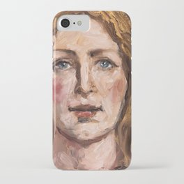 Holy Face of Angel iPhone Case