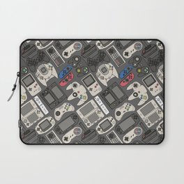 Video Game Controllers in True Colors Laptop Sleeve