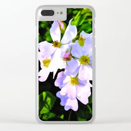 The Wild Rose In Living Color Clear iPhone Case