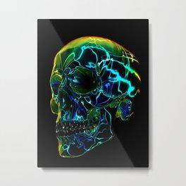 Electric Yorick Metal Print