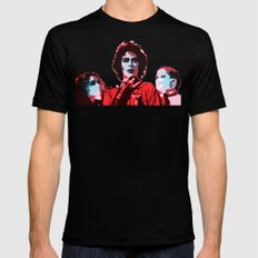 The Rocky Horror Picture Show - Pop Art Black Mens Fitted Tee MEDIUM