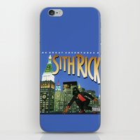 sith iPhone & iPod Skins featuring Sith Rick by Ant Atomic