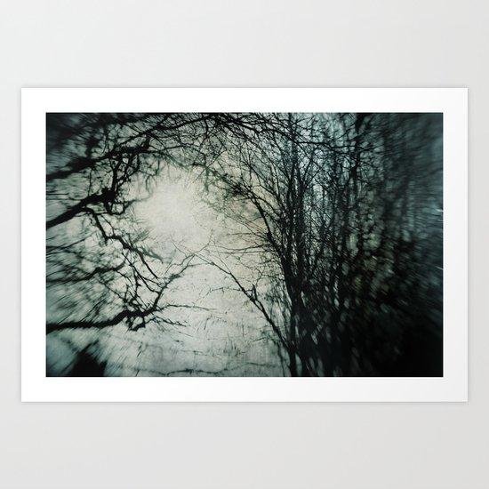 Bleak Winter Art Print