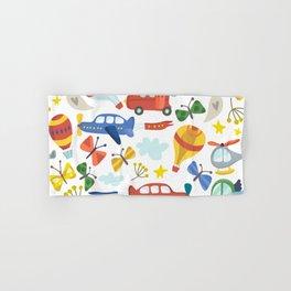 Kids Air Transportation Hand & Bath Towel