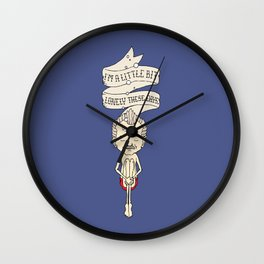 """""""I'm A Little Bit Lonely These Days."""" - Blume Wall Clock"""