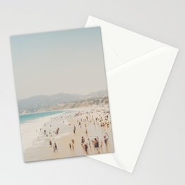 summer time in Santa Monica ... Stationery Cards
