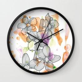 Plum Flower Wall Clock