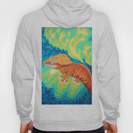 Red Crested Gecko Hoody