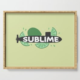 Sublime Serving Tray