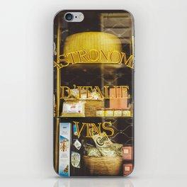 Gastronomie Italienne, Vins iPhone Skin