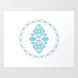 Domino II Art Print