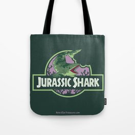 Jurassic Shark - Edestus shark Tote Bag