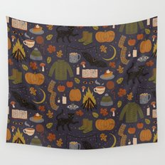 Autumn Nights Wall Tapestry
