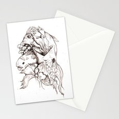 Weird Fishes Stationery Cards