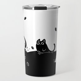 Coffee Cats Travel Mug
