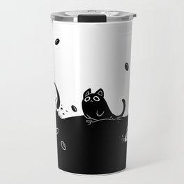 Coffee Cats Travel Mug