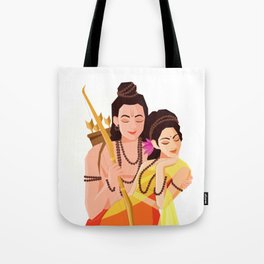 Essence of Love - Rama Seeta Tote Bag