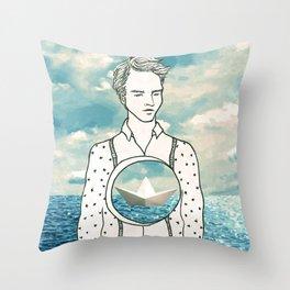 The Sea Inside 2 Throw Pillow