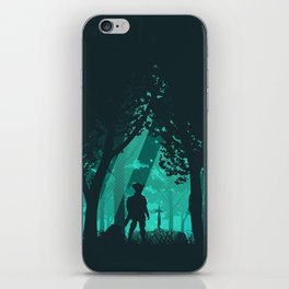 It's Dangerous To Go Alone iPhone Skin