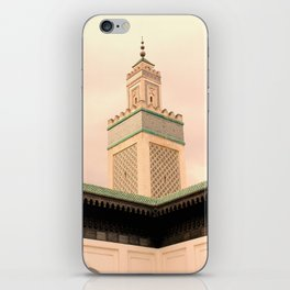 Grande Mosquee de Paris  iPhone Skin