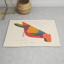 Australian King Parrot Rug