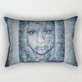 Gaia face Rectangular Pillow