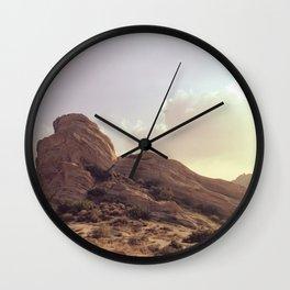 Vasquez Rocks Wall Clock