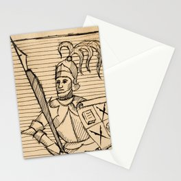 Knight of Knowledge Stationery Cards