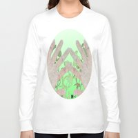 bag Long Sleeve T-shirts featuring Bag by Art Barf