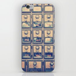 Vintage Post Box Texture iPhone Skin