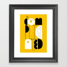 It's complicated Framed Art Print