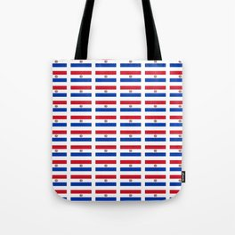 flag of paraguay 2 -paraguyan,asuncion,spanish, south america, latin america,pan flute,coffee,forest Tote Bag