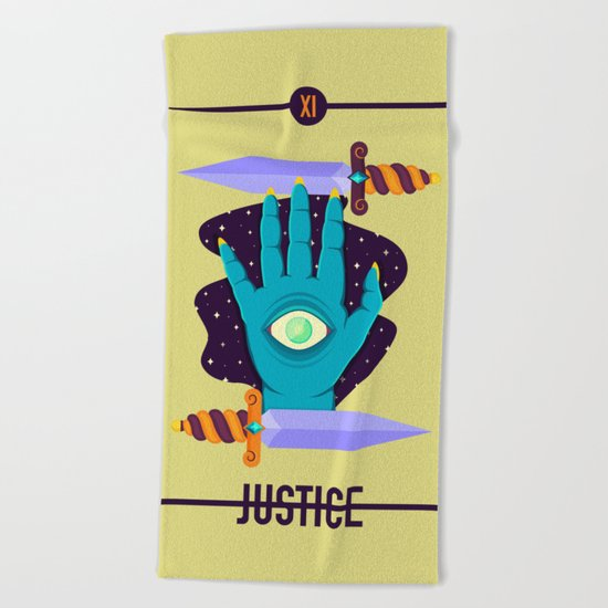 JUSTICE Beach Towel