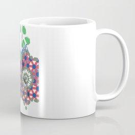 Deer Essaouira, Blue & Green Coffee Mug