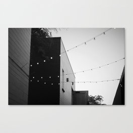 string of light Canvas Print