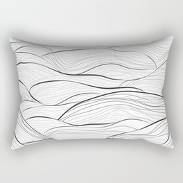 Rolling in the Waves Rectangular Pillow