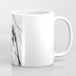 Black and White Poppies Coffee Mug