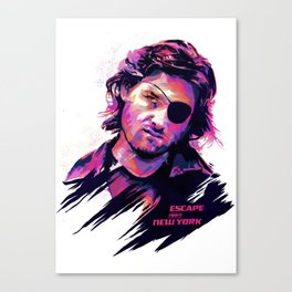 Kurt Russell: BAD ACTORS Canvas Print