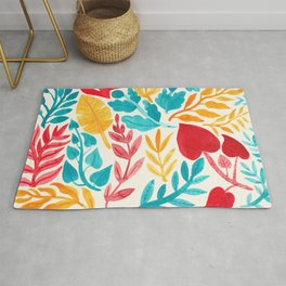 The Brightest Leaves Rug