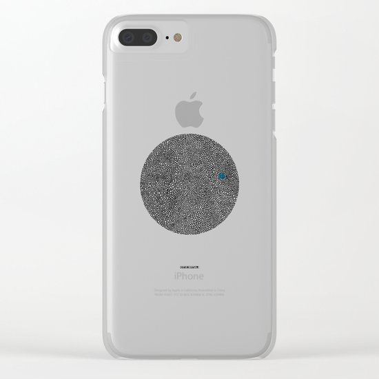- cosmos_07 - Clear iPhone Case