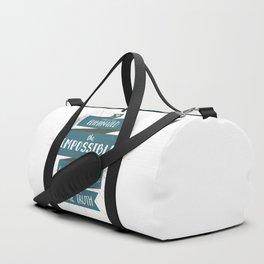 The Truth (blue) Duffle Bag
