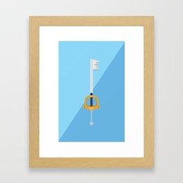 Kingdom Key (Kingdom Hearts) Postcard Framed Art Print