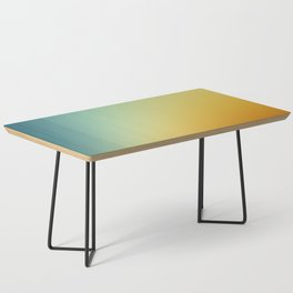 Gradient Colours: Orange Blue Coffee Table