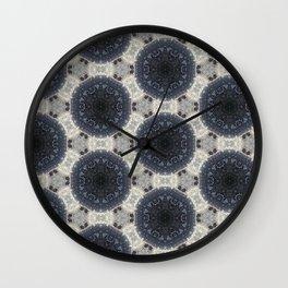 Raisin Givré - Frozen grape Wall Clock