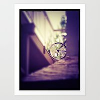 Point of Intersection  Art Print