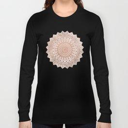 ROSE NIGHT MANDALA Long Sleeve T-shirt