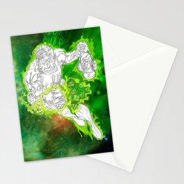 The Green Lantern by Derek Dobbels Stationery Cards