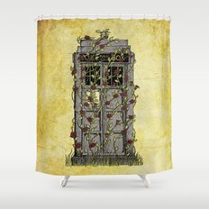 Rose- Doctor Who Shower Curtain